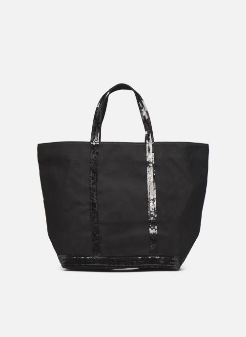 Handtassen Vanessa Bruno Cabas  M+ Zwart voorkant