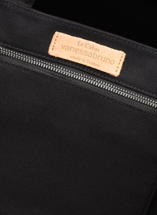 Handtassen Vanessa Bruno Cabas  M+ Zwart achterkant
