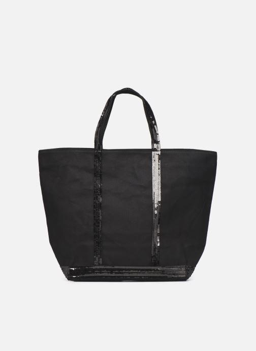Handtassen Vanessa Bruno Cabas  M+ Zwart detail