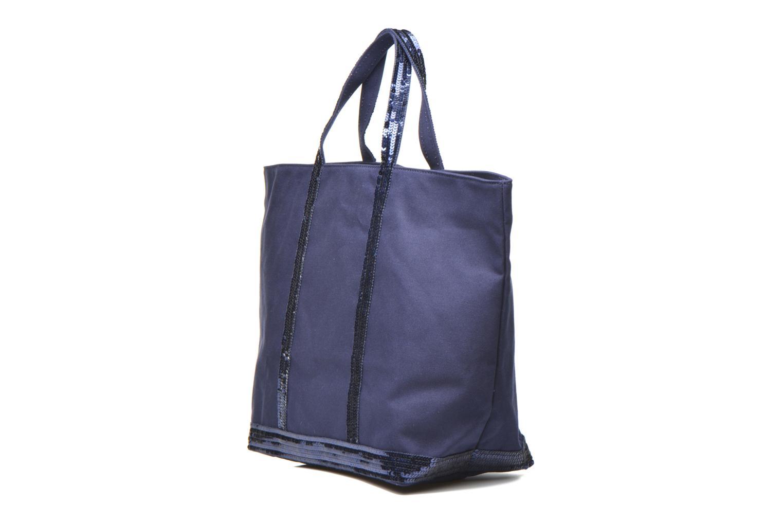 Handbags Vanessa Bruno Cabas  M+ Blue model view