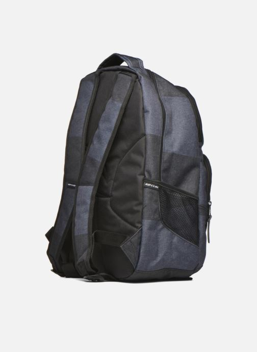 Rucksacks Rip Curl Modern Retro Double up Sac à dos 2 compartiments Grey view from the right