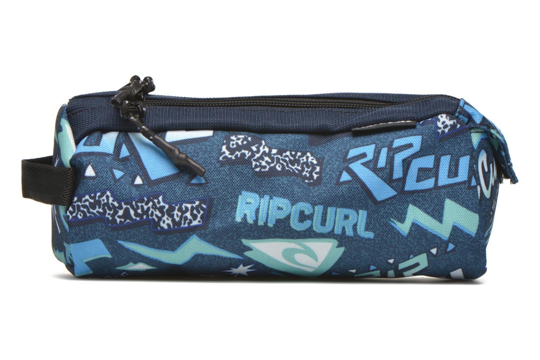 Scolaire Rip Curl Neon Vibes Trousse double Bleu vue détail/paire