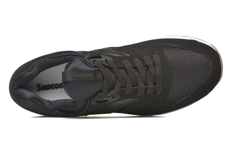 Baskets Saucony Grid 8500 Noir vue gauche