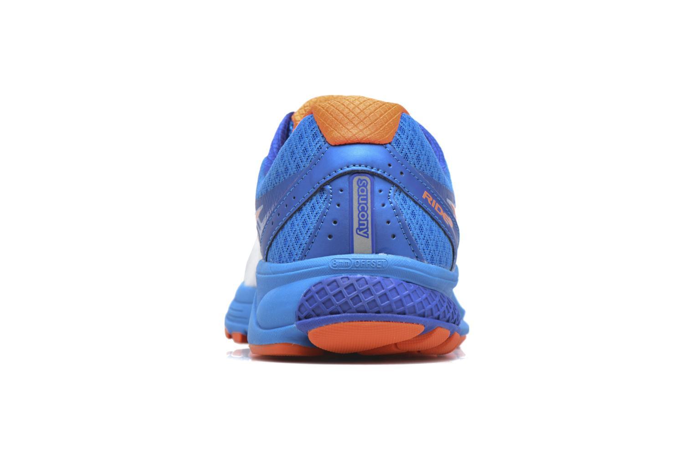 Chaussures de sport Saucony Ride 9 Bleu vue droite