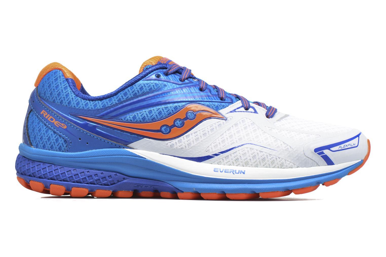 Chaussures de sport Saucony Ride 9 Bleu vue derrière