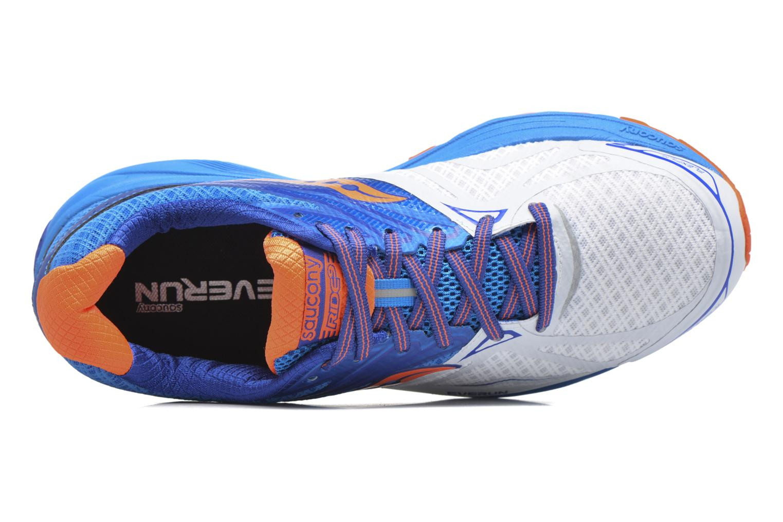 Chaussures de sport Saucony Ride 9 Bleu vue gauche