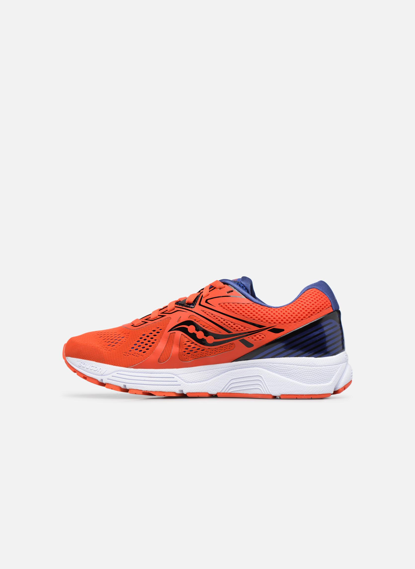 Chaussures de sport Saucony Swerve Rouge vue face