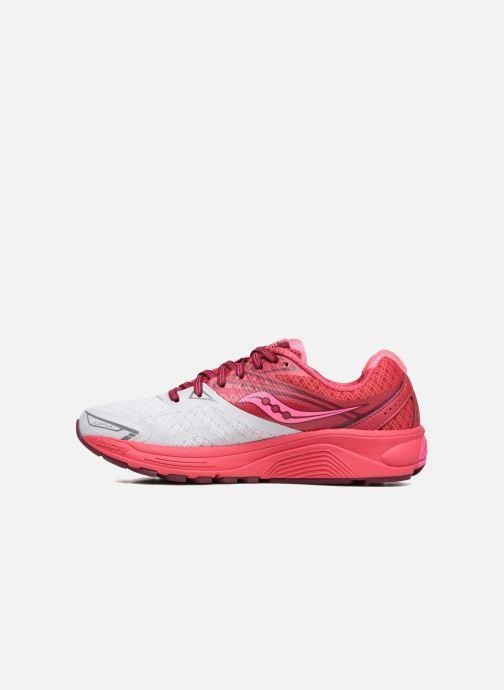 Chaussures de sport Saucony Ride 9 W Rose vue face