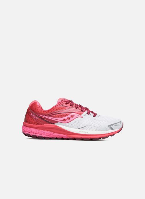 Chaussures de sport Saucony Ride 9 W Rose vue derrière