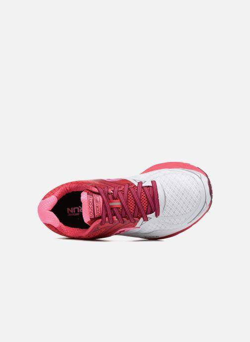 Zapatillas de deporte Saucony Ride 9 W Rosa vista lateral izquierda