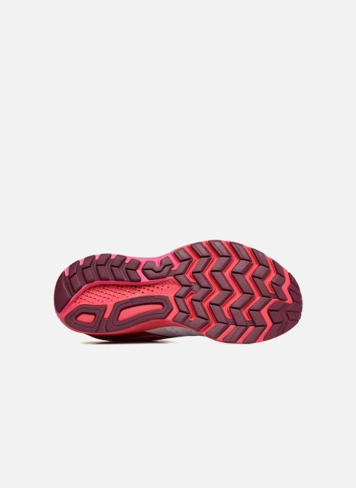 Chaussures de sport Saucony Ride 9 W Rose vue haut
