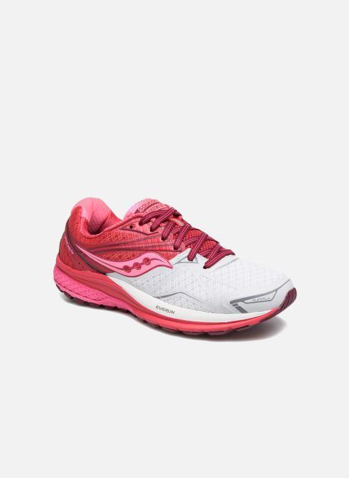 Chaussures de sport Saucony Ride 9 W Rose vue détail/paire