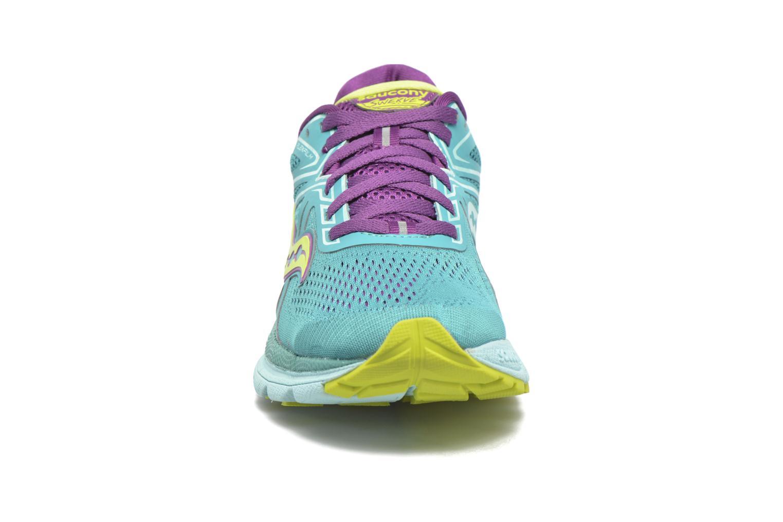 Chaussures de sport Saucony Swerve W Vert vue portées chaussures