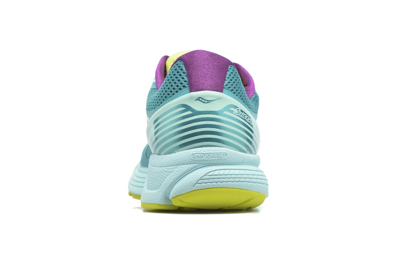 Chaussures de sport Saucony Swerve W Vert vue droite