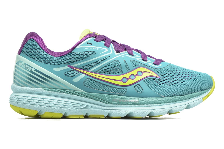 Chaussures de sport Saucony Swerve W Vert vue derrière