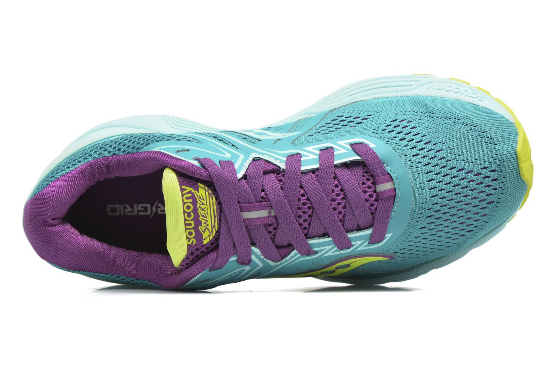 Chaussures de sport Saucony Swerve W Vert vue gauche