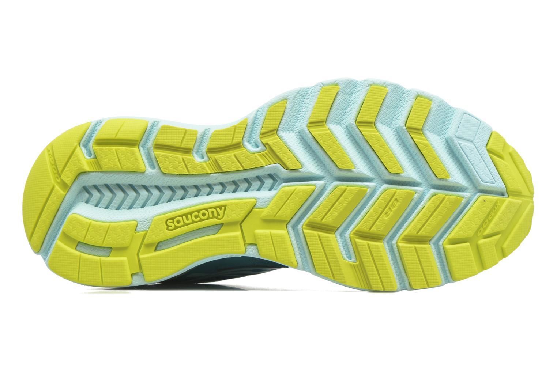 Chaussures de sport Saucony Swerve W Vert vue haut