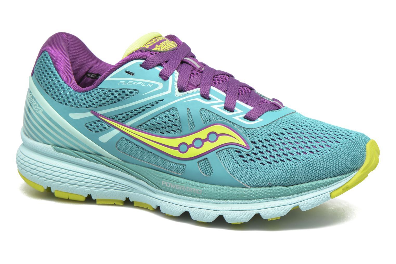 Chaussures de sport Saucony Swerve W Vert vue détail/paire