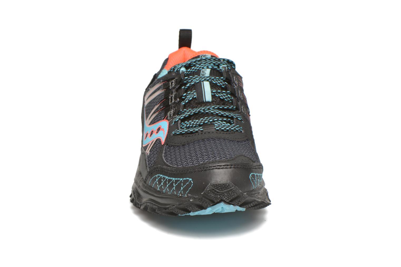 Chaussures de sport Saucony Excursion TR10 GTX W Noir vue portées chaussures