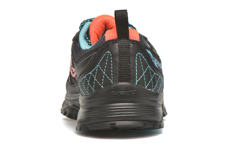 Chaussures de sport Saucony Excursion TR10 GTX W Noir vue droite