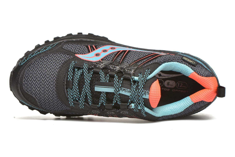 Chaussures de sport Saucony Excursion TR10 GTX W Noir vue gauche