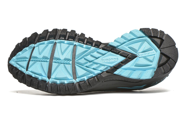 Chaussures de sport Saucony Excursion TR10 GTX W Noir vue haut