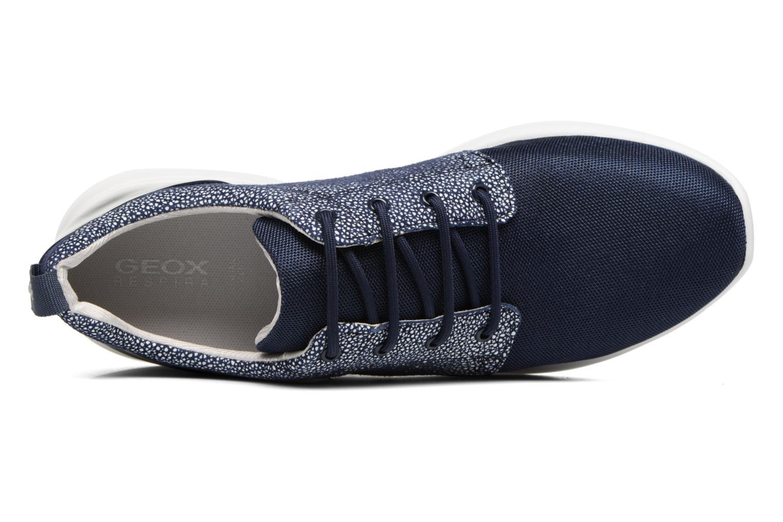 Baskets Geox D OPHIRA A D621CA Bleu vue gauche