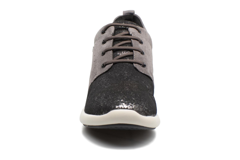 Baskets Geox D OPHIRA A D621CA Gris vue portées chaussures