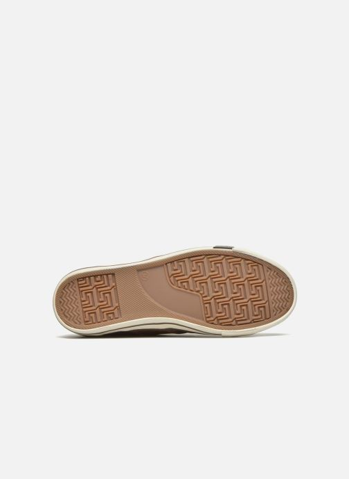 Trainers Mustang shoes Pluy Brown view from above