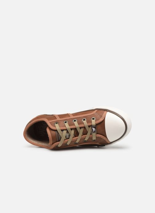 Sneakers Mustang shoes Pluy Marrone immagine sinistra
