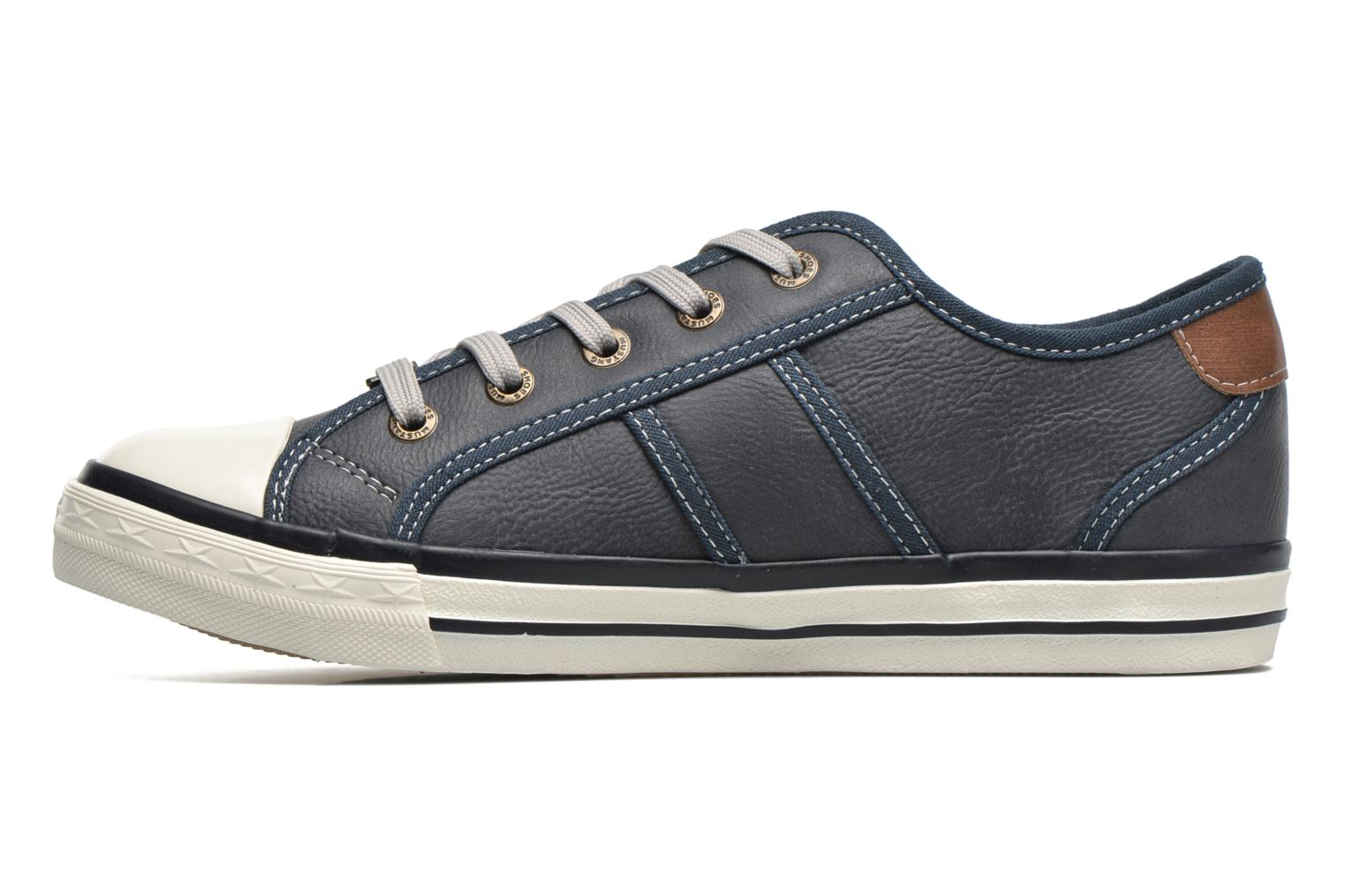 Trainers Mustang shoes Pluy Blue front view