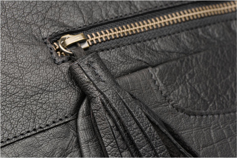 Sacs à main Pieces POFO Leather bag Noir vue gauche