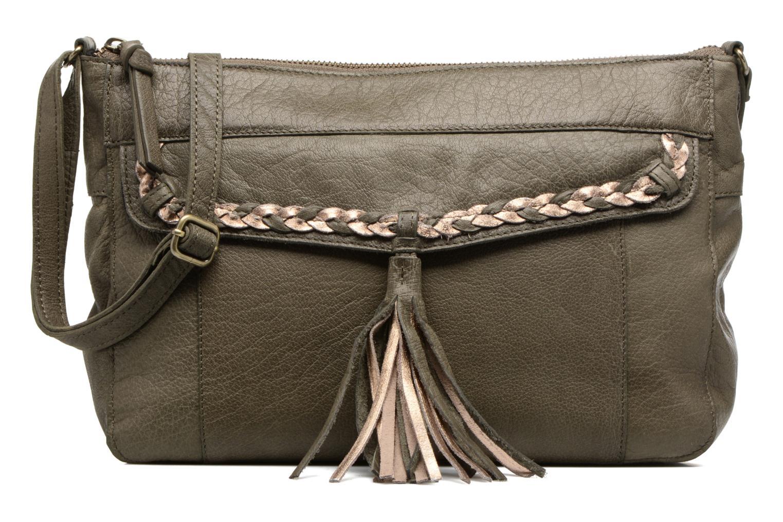 Sacs à main Pieces POFO Leather Crossbody bag Vert vue détail/paire