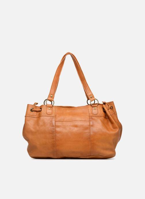 Sacs à main Pieces PIHANNA Leather bag Marron vue face