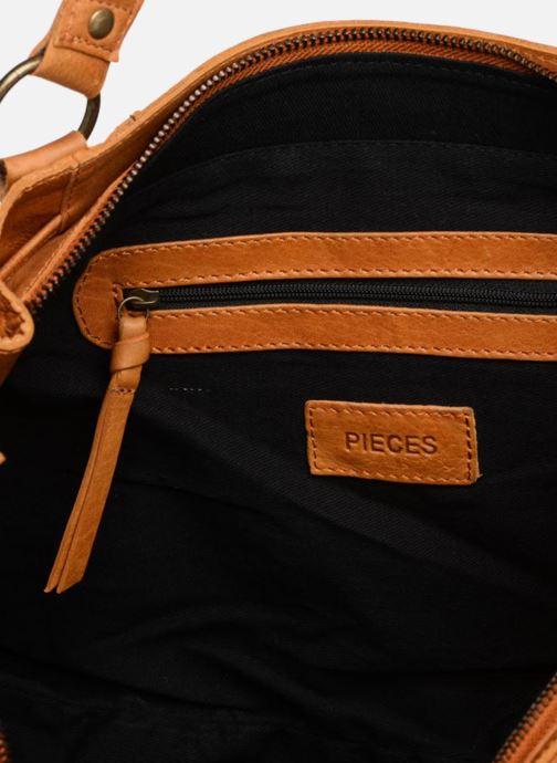 Sacs à main Pieces PIHANNA Leather bag Marron vue derrière