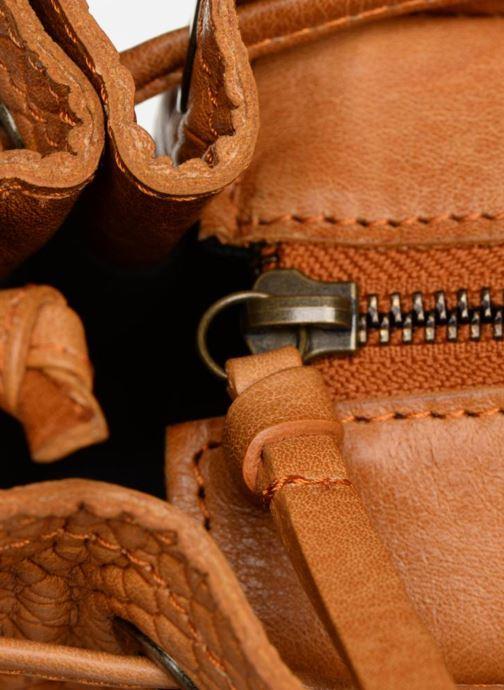 Sacs à main Pieces PIHANNA Leather bag Marron vue gauche
