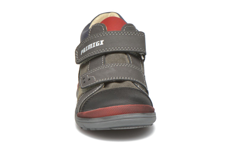 Chaussures à scratch Primigi Tristan Gris vue portées chaussures