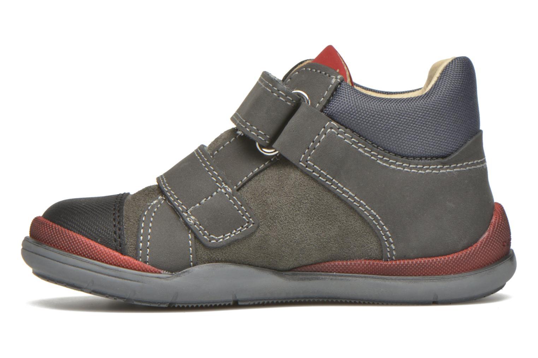Chaussures à scratch Primigi Tristan Gris vue face