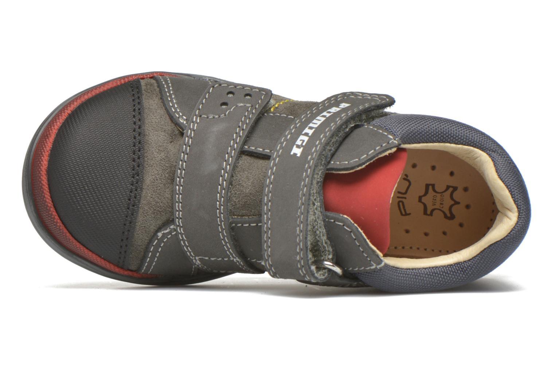 Chaussures à scratch Primigi Tristan Gris vue gauche