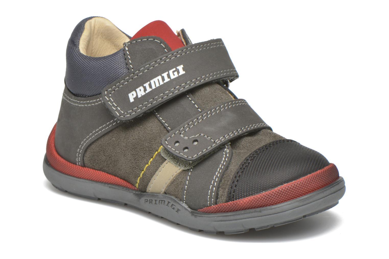 Chaussures à scratch Primigi Tristan Gris vue détail/paire