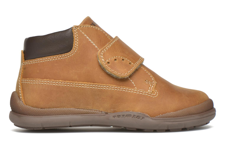 Chaussures à scratch Primigi Demian Beige vue derrière