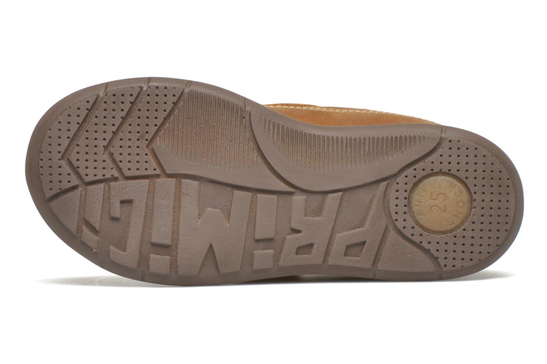 Chaussures à scratch Primigi Demian Beige vue haut
