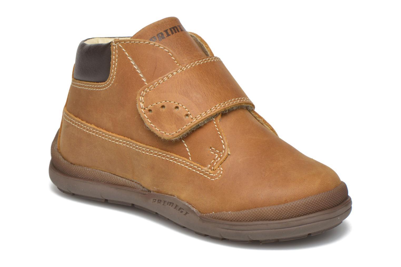 Chaussures à scratch Primigi Demian Beige vue détail/paire