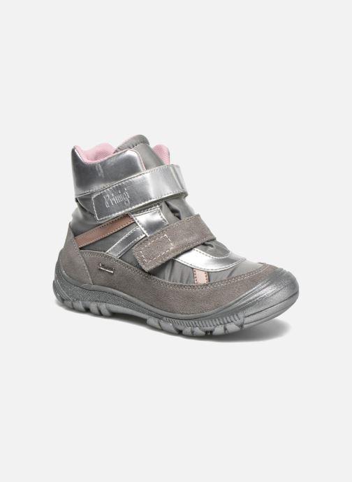 Bottines et boots Primigi Meccoy-E Gris vue détail/paire