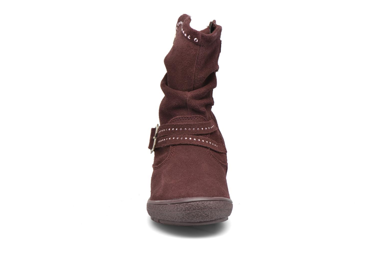 Bottes Primigi Calisha-E Bordeaux vue portées chaussures