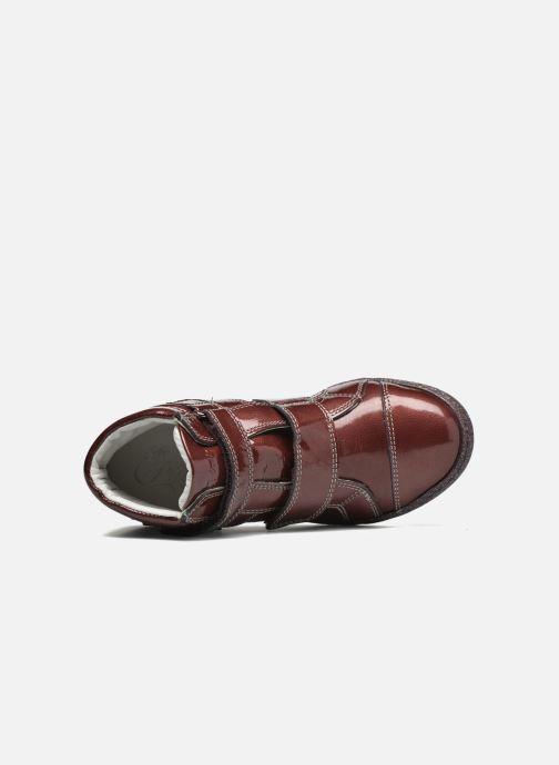 Schoenen met klitteband Primigi Anne-E Bordeaux links