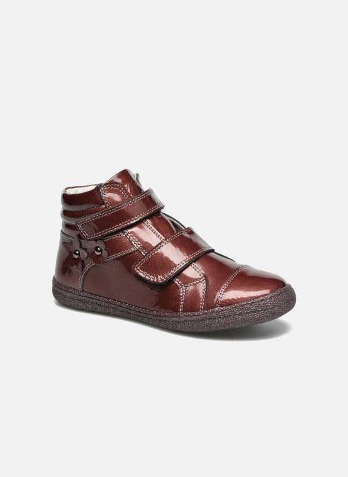 Chaussures à scratch Primigi Anne-E Bordeaux vue détail/paire