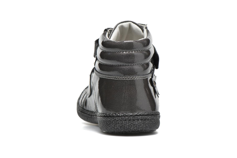 Chaussures à scratch Primigi Anne-E Gris vue droite