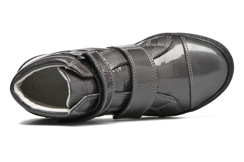 Chaussures à scratch Primigi Anne-E Gris vue gauche