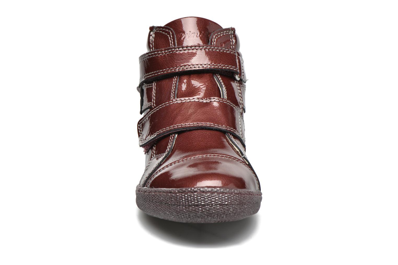 Velcro shoes Primigi Anne-E Burgundy model view